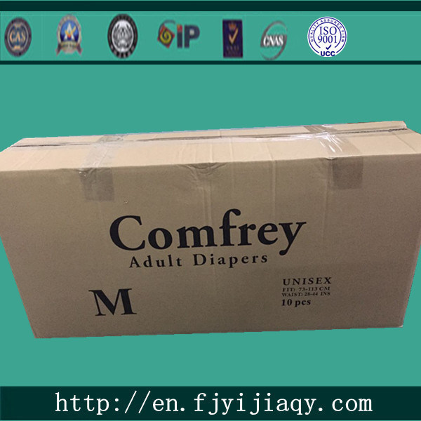 Disposable Cheap Adult Diapers with Print