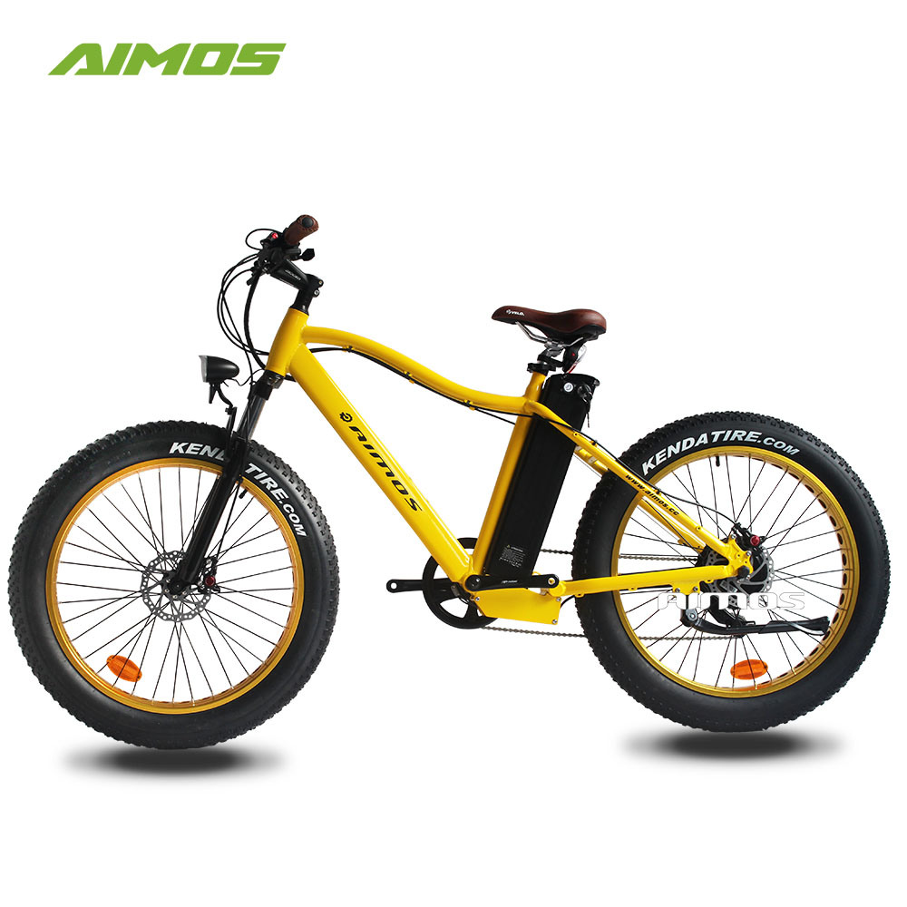 500W New Fat Tire Mountain Electric Bike with Reasonable Price