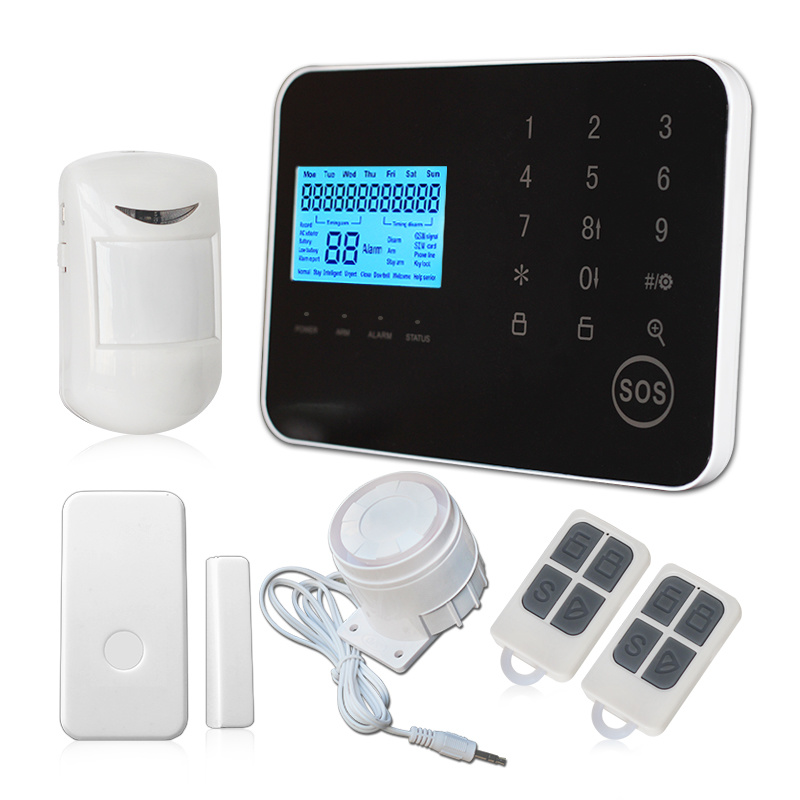Wireless Touch Screen GSM+PSTN Home Security Alarm System Alarm