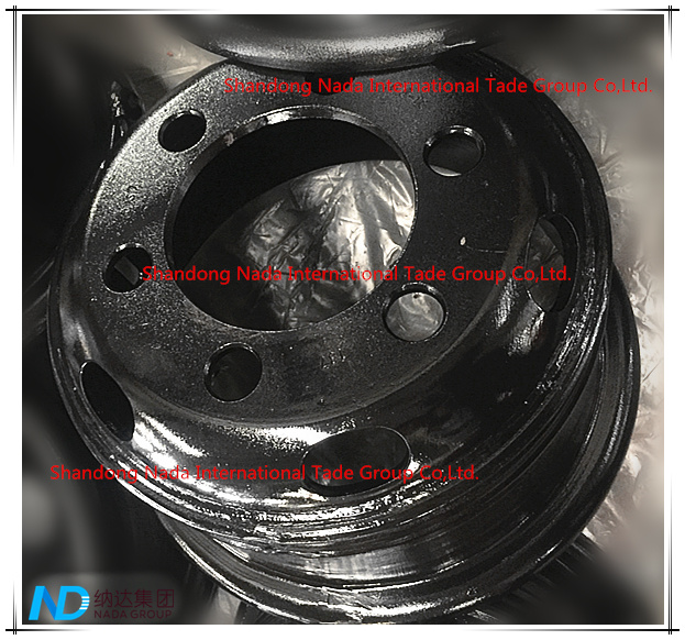6.50-16 Tube Rim TBR Truck Steel Wheel with TS16949/ISO9001: 2000