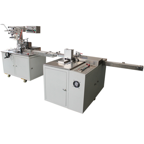 Eraser Paper Sleeve Packing & Cellophane Overwrapping Machine