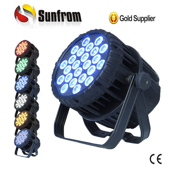 Outdoor IP65 24*18W 6in1 Full-Color LED PAR Can Light