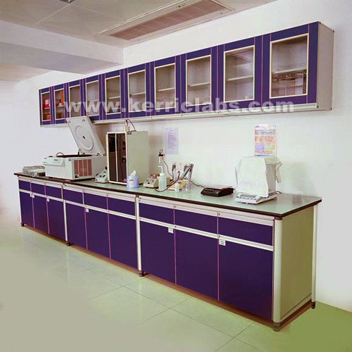China Side Bench With Suspended Cabinet Lab Lab
