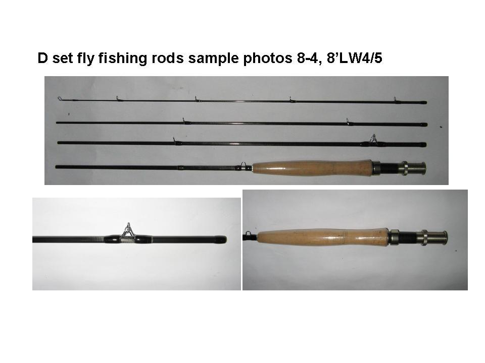d set fly fishing rods 8 4