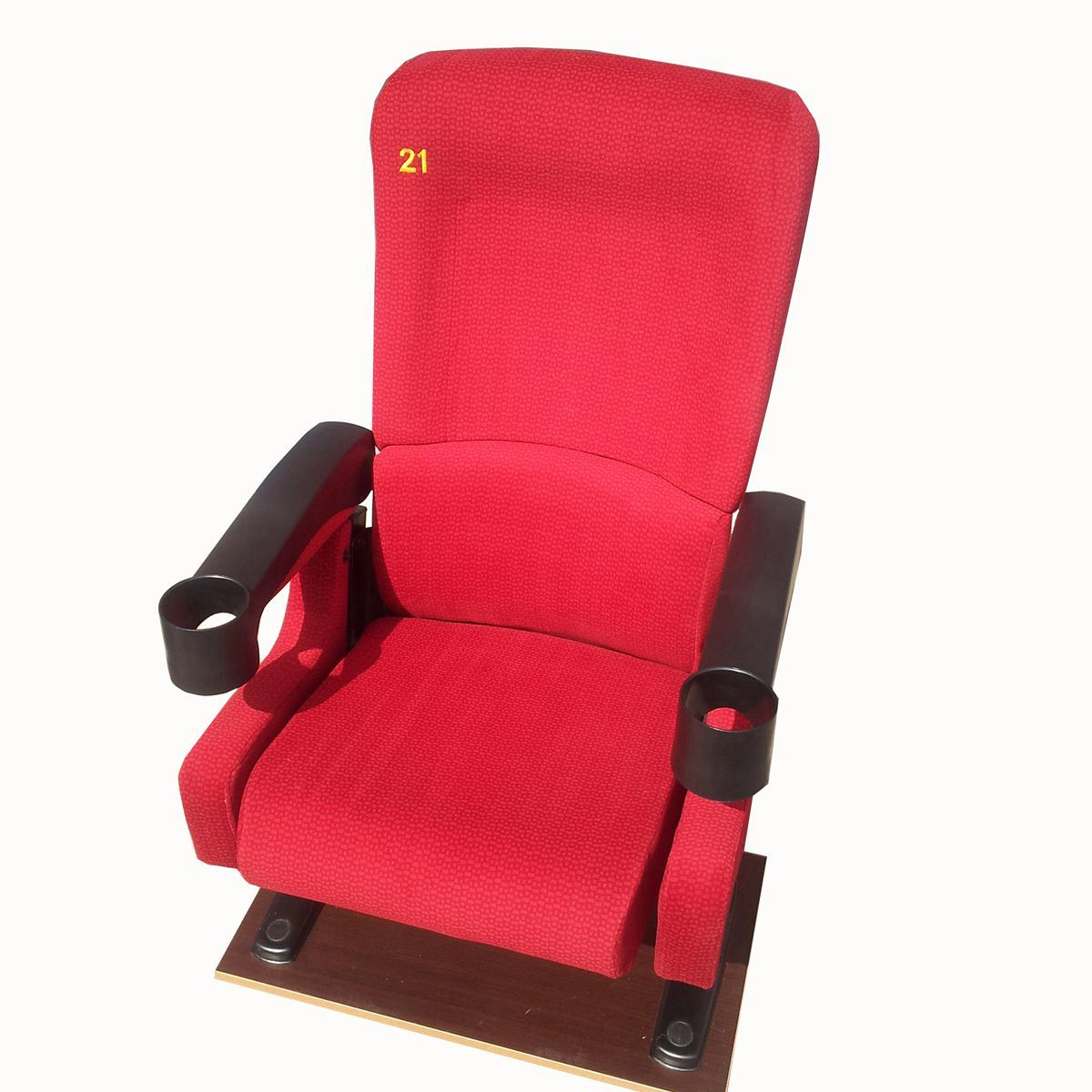 Cinema Hall Seating Film Auditorium Seat Movie Theater Chair (S99)