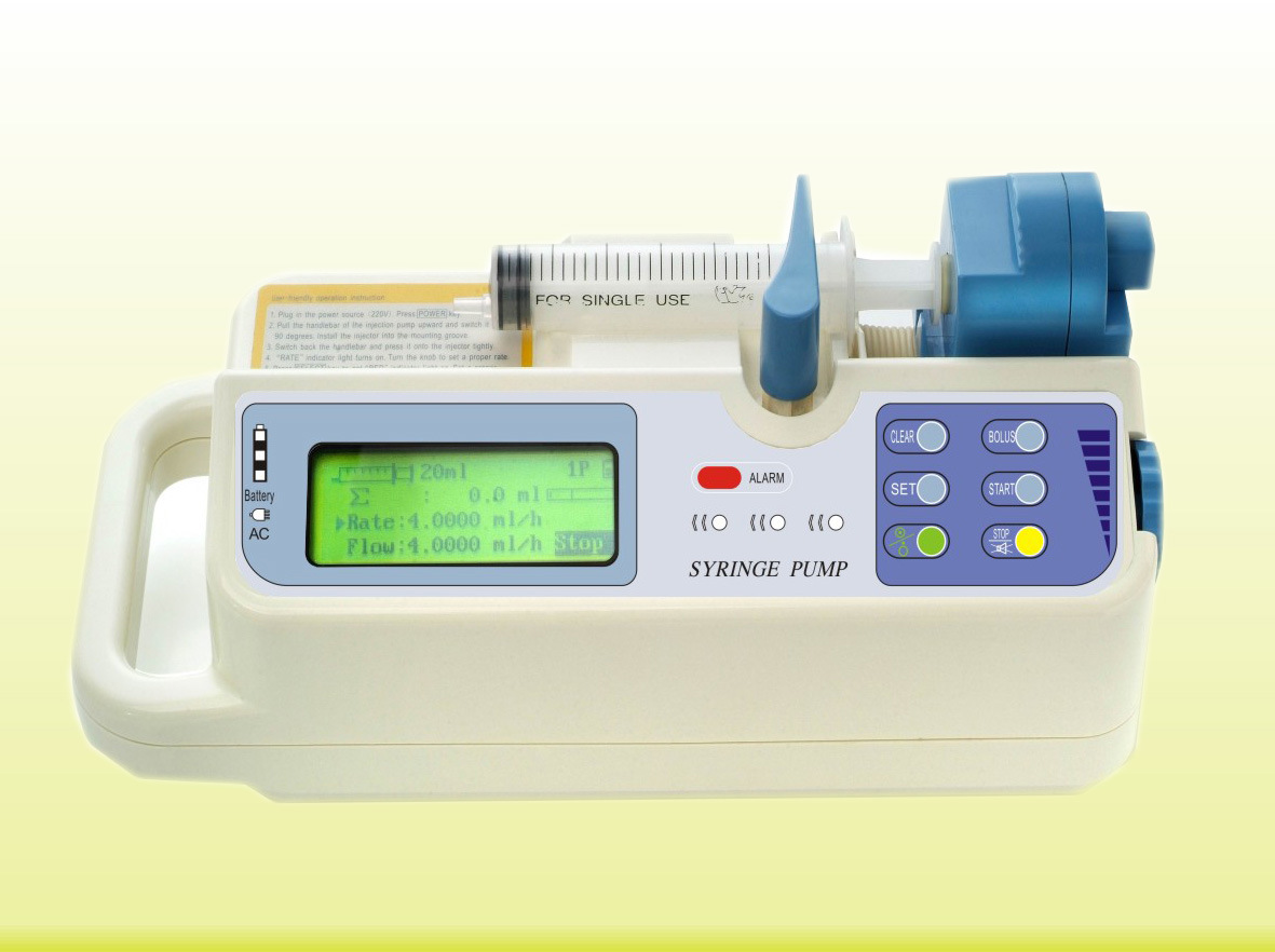 Syringe Pump (500II with CE)