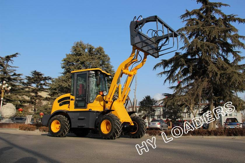 2014 Hot Sale Wheel Loader Zl08f (4WD)