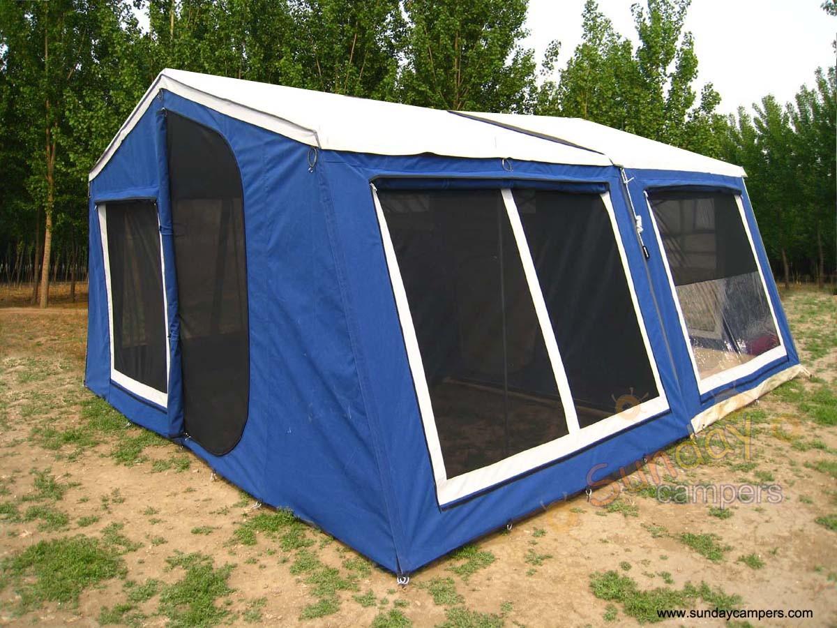 Unique China Camper Trailer Tent SC01 Photos Amp Pictures  Madeinchinacom