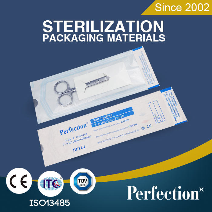 Disposable Medical Use Self Sealing Sterilization Pouches (001)