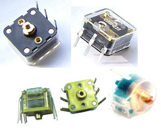 Air Variable Capacitors, Shafted: Single Section