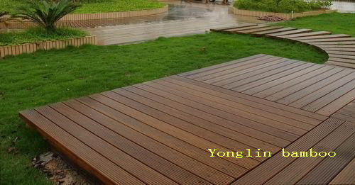 China Outdoor Strand Woven Bamboo Decking Osw China