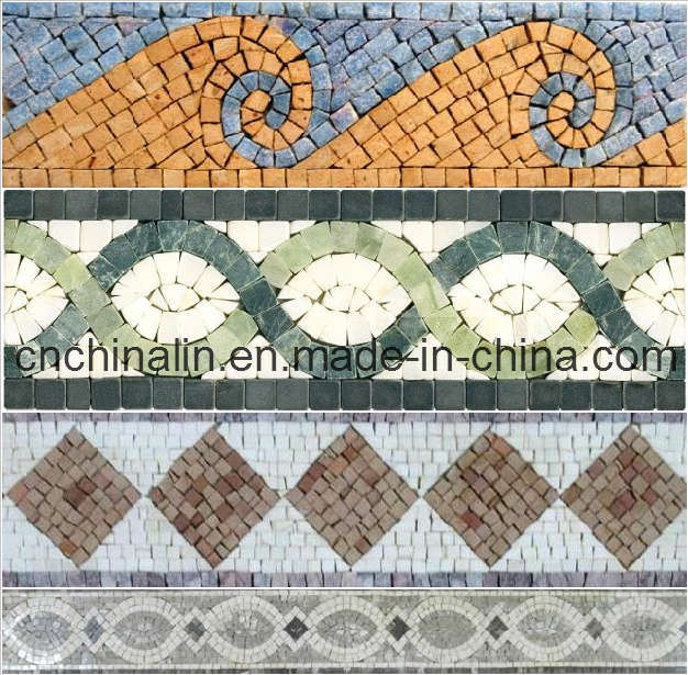 China Fanstatic Mosaic Border - China Mosaic, Marble Mosaic