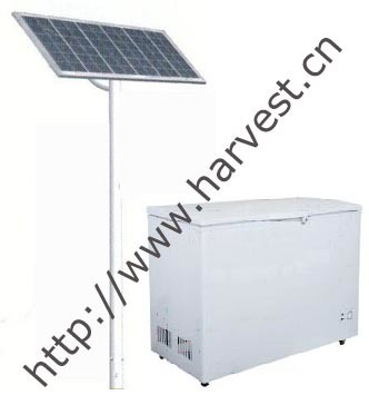 100% Solar Powered 12V 24V Chest Freezer