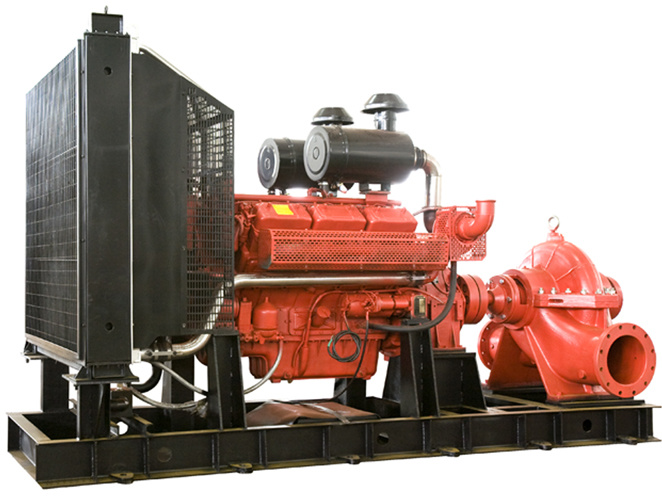 Diesel Fire Fighting Pump Group