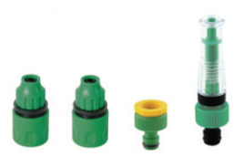 Adjustable Hose Nozzle 3/8 4PCS Set