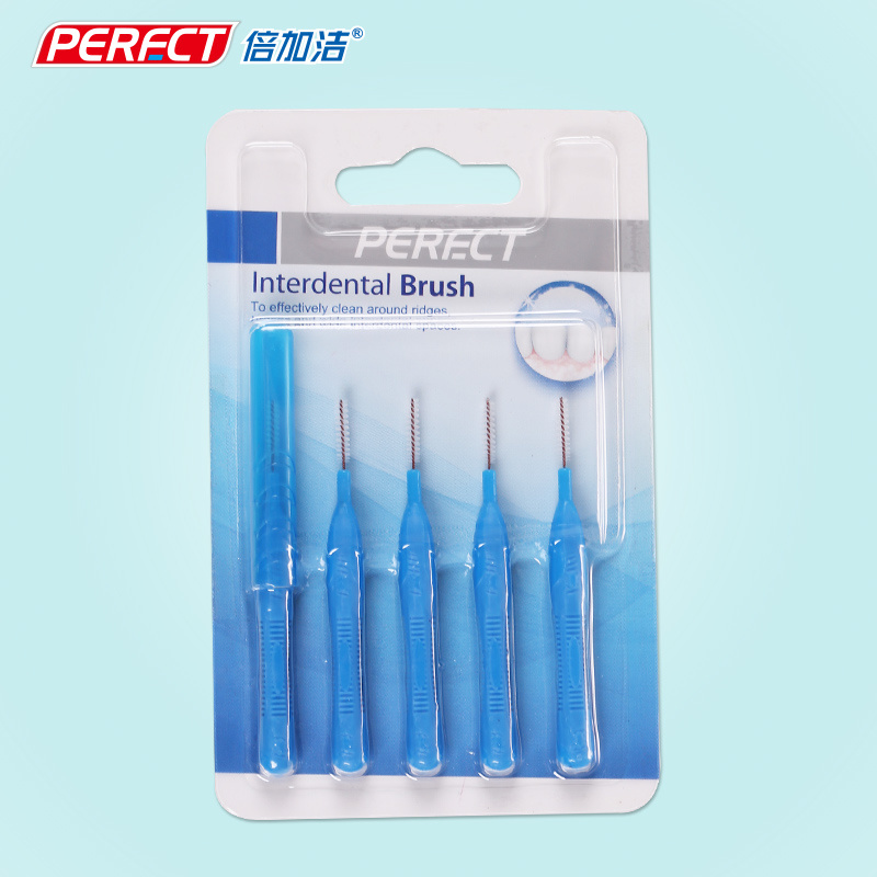 Perfect 5PCS Pack Interdental Brush/Toothbrush
