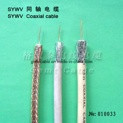 CCTV Cable Siamese Cable Antenna Cable Coaxial Cable Sywv-RG6 Coaxial Cable