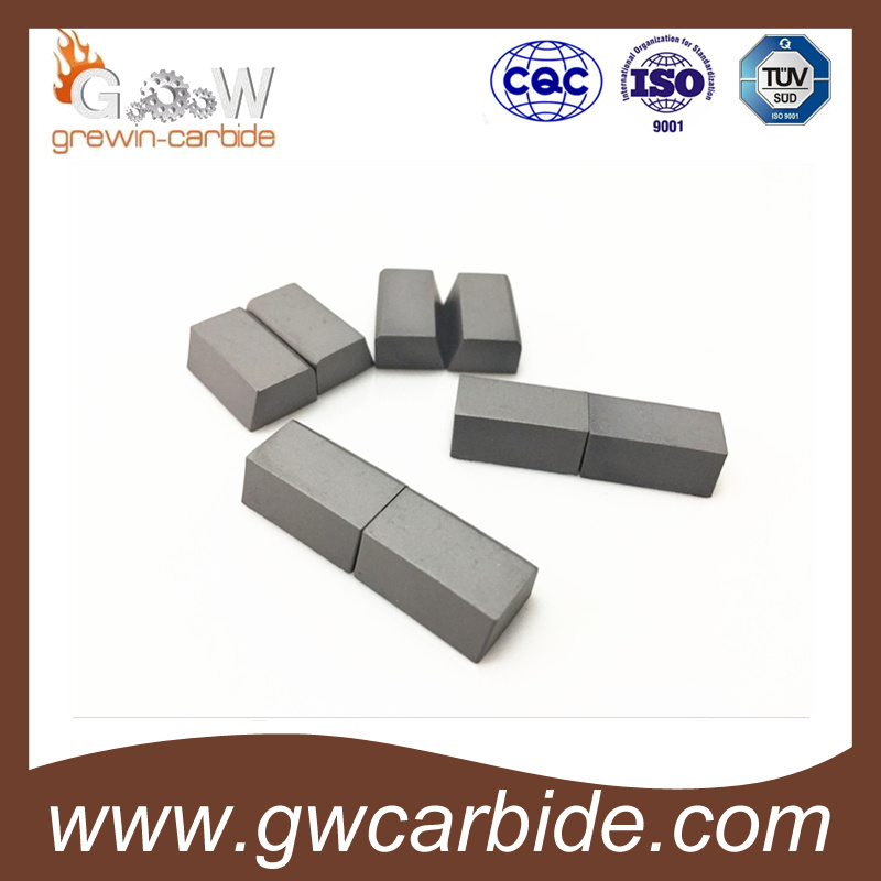 High Quality of Tungsten Carbide Brased Tips with Various Size