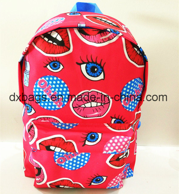 600d Polyester Teenageer School Backpack