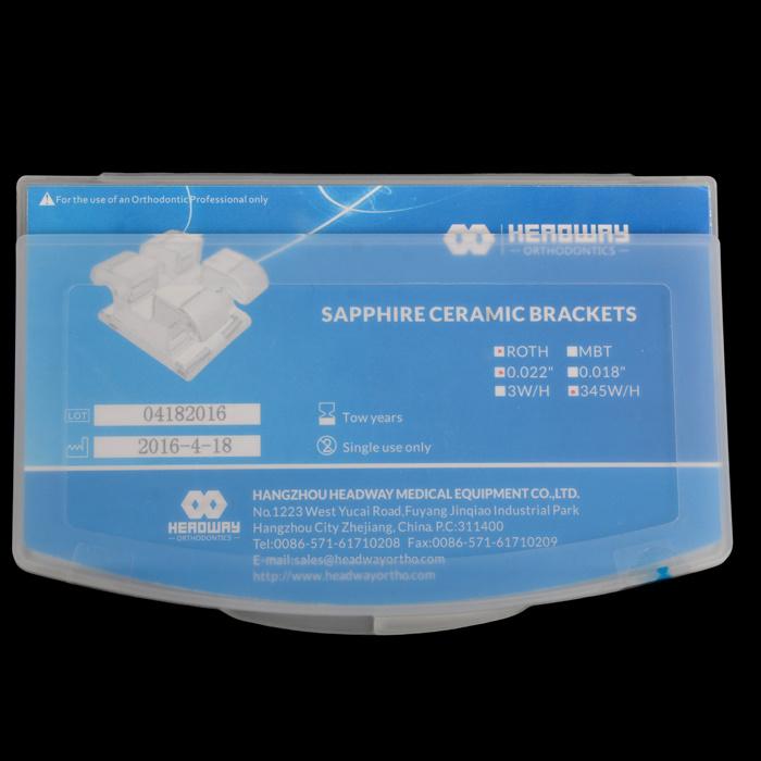 Mbt Sapphire Ceramic Dental Orthodontic Bracket