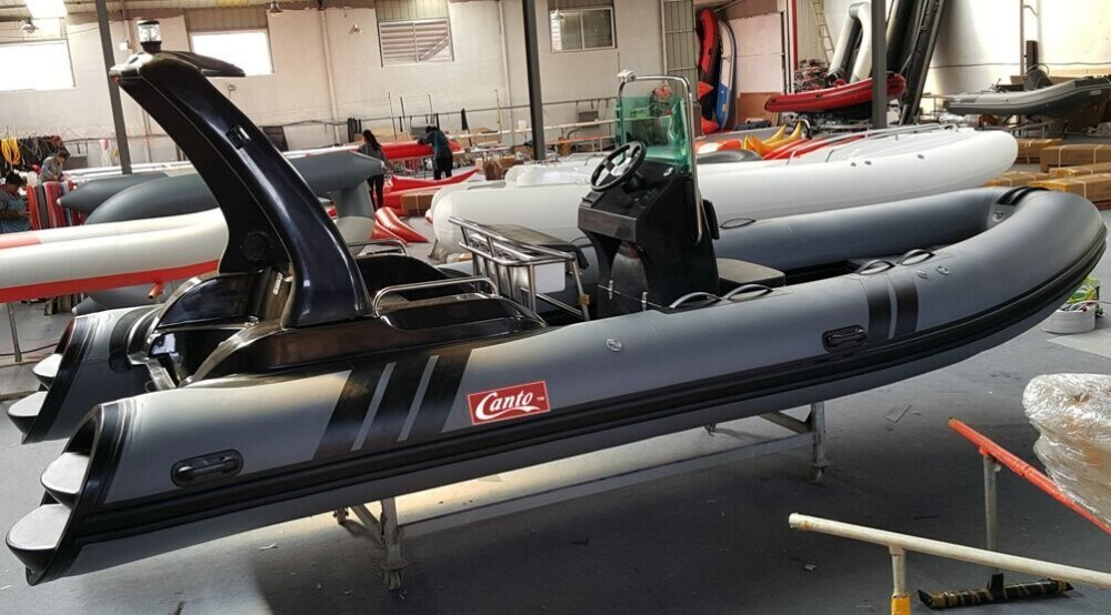 Orca Material 7.6m Military Rib Inflatable Boat for Sale