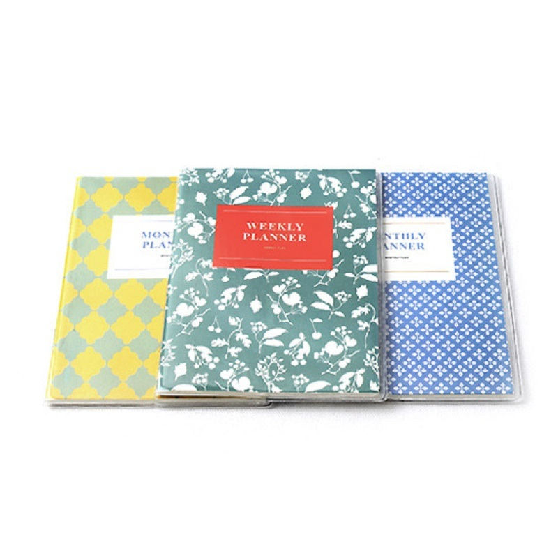 Customized Stationery/Office Supply Softcover Notebook with Waterproof Rubber Slipcase