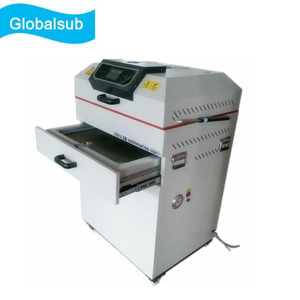 Large Double-Deck 3D Vacuum Heat Press Machine