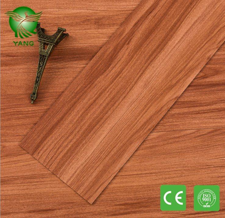 Office Room Decoration Wood Series PVC Flexible Flooring Vinyl Plank