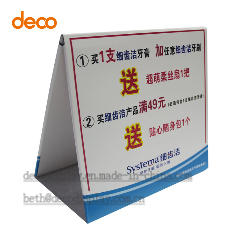Advertising Paper Display Standees Pop Cardboard Display for Promotion
