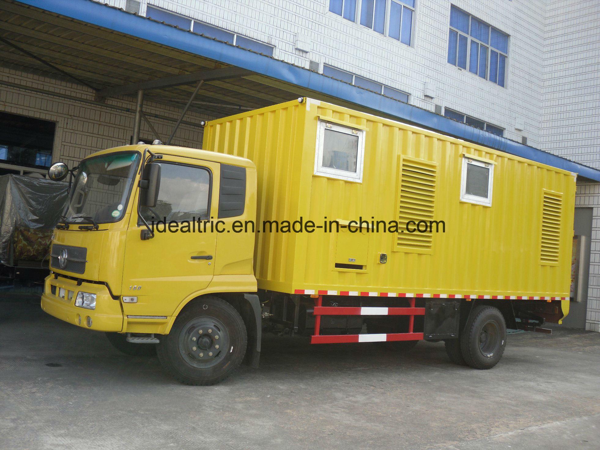 China 200kVA 250kVA 500kVA 400Hz Diesel Generator Power Plant