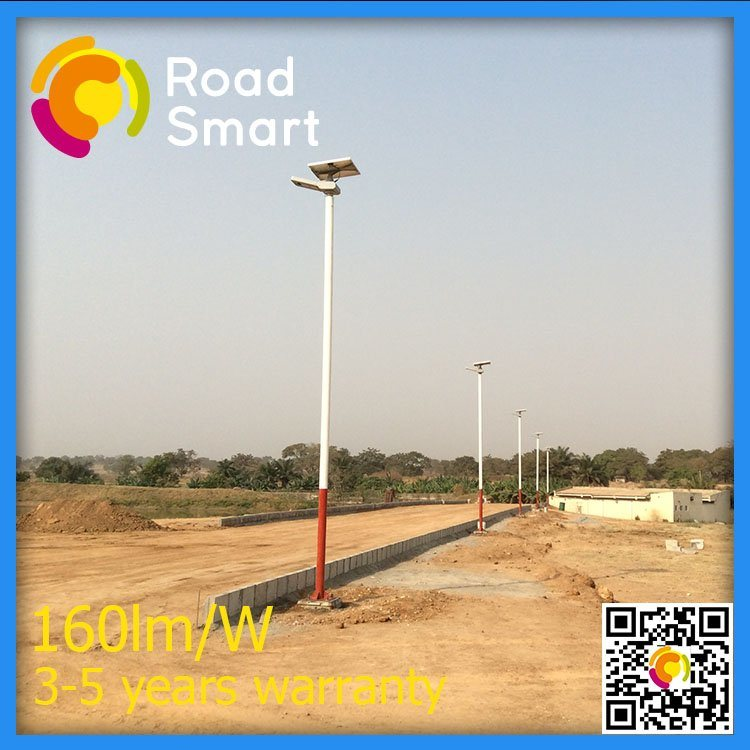 15W LED Outdoor Integrated Solar Street Light for Garden