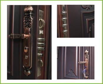 New Design Metal Door Iron Steel Security Door