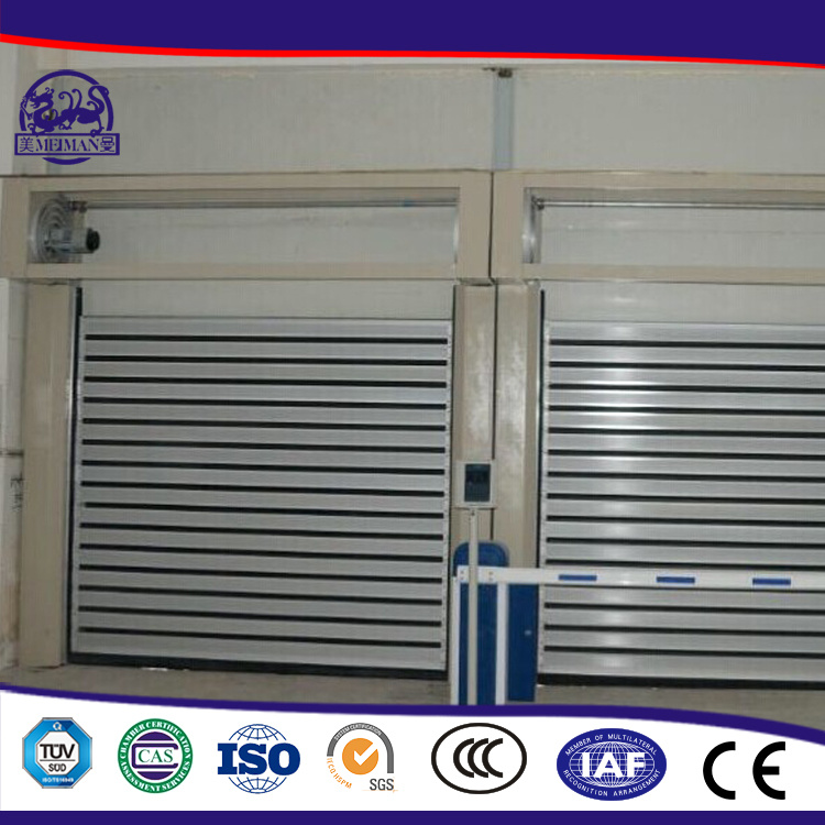 Turbine Motor Metal High Speed Industrial Door/High Speed Roll up Door/PVC Roll up Door