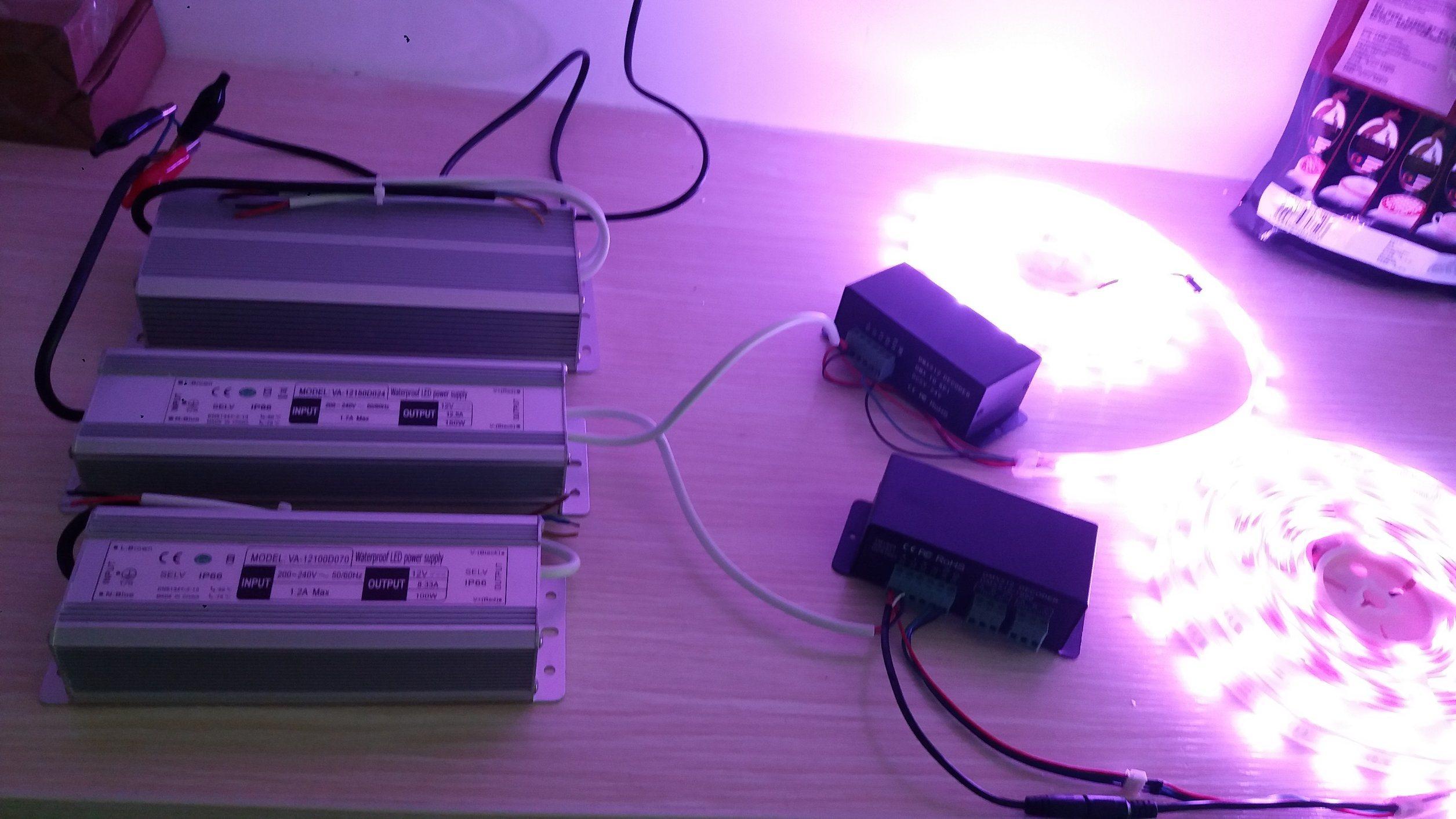 LED Driver 150W 24V Waterproof