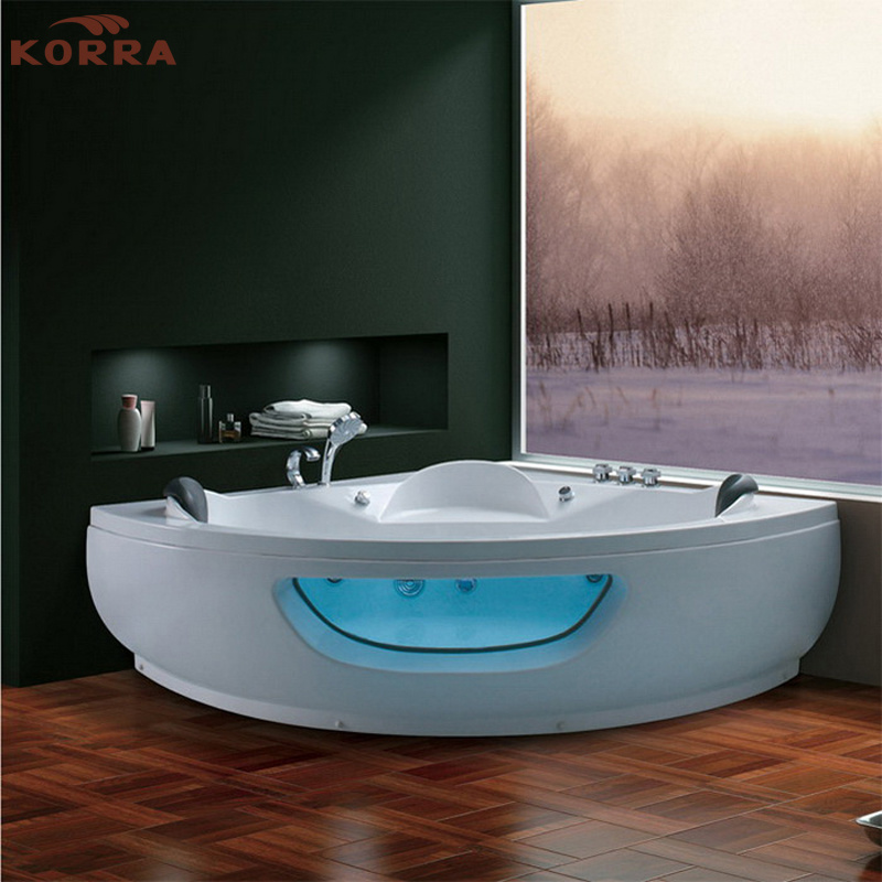 Corner Massage Bathtub with Removable Panel (K-1065)