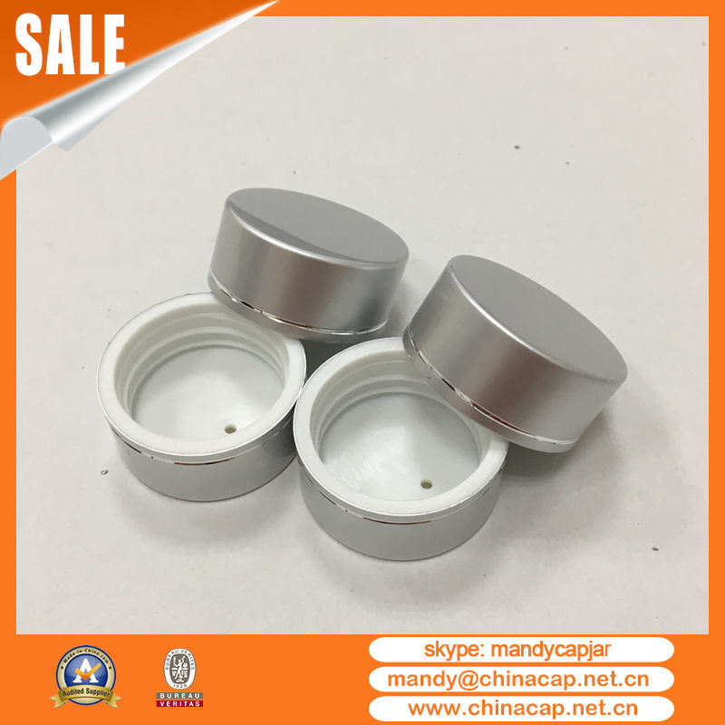 38mm 45mm Custom Aluminum Plastic Screw Cap for Packaging