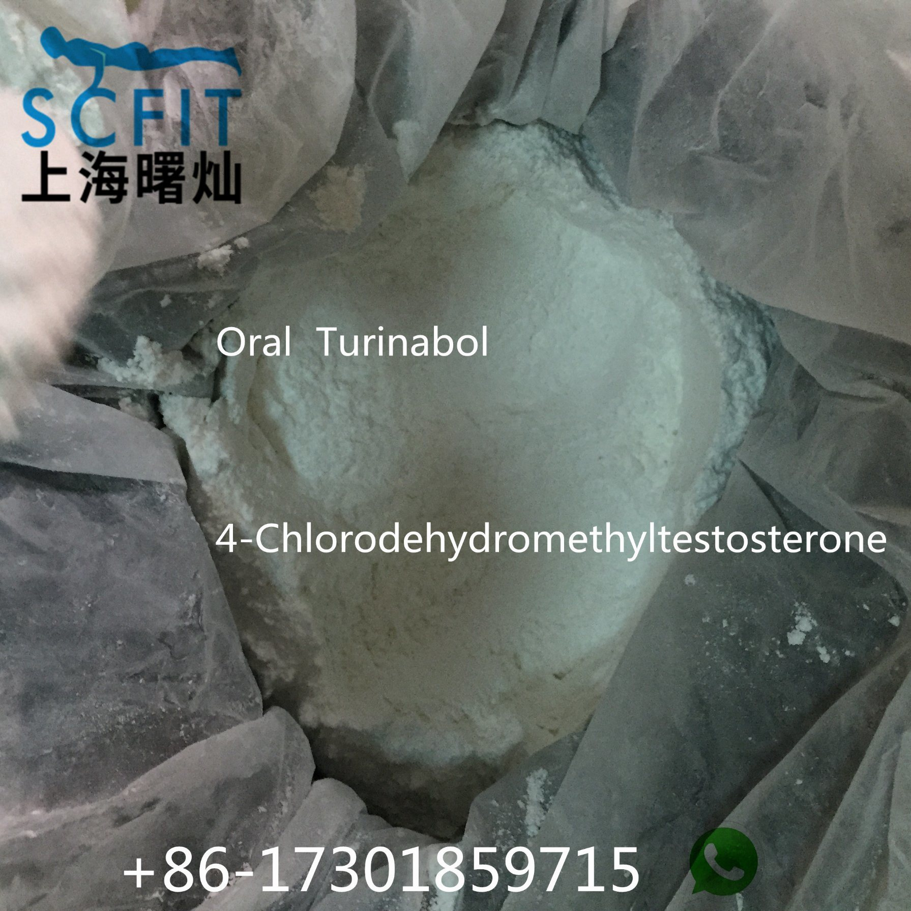 Powerful Musle Building Steroid Oral Turinabol 2446-23-3 Factory Price