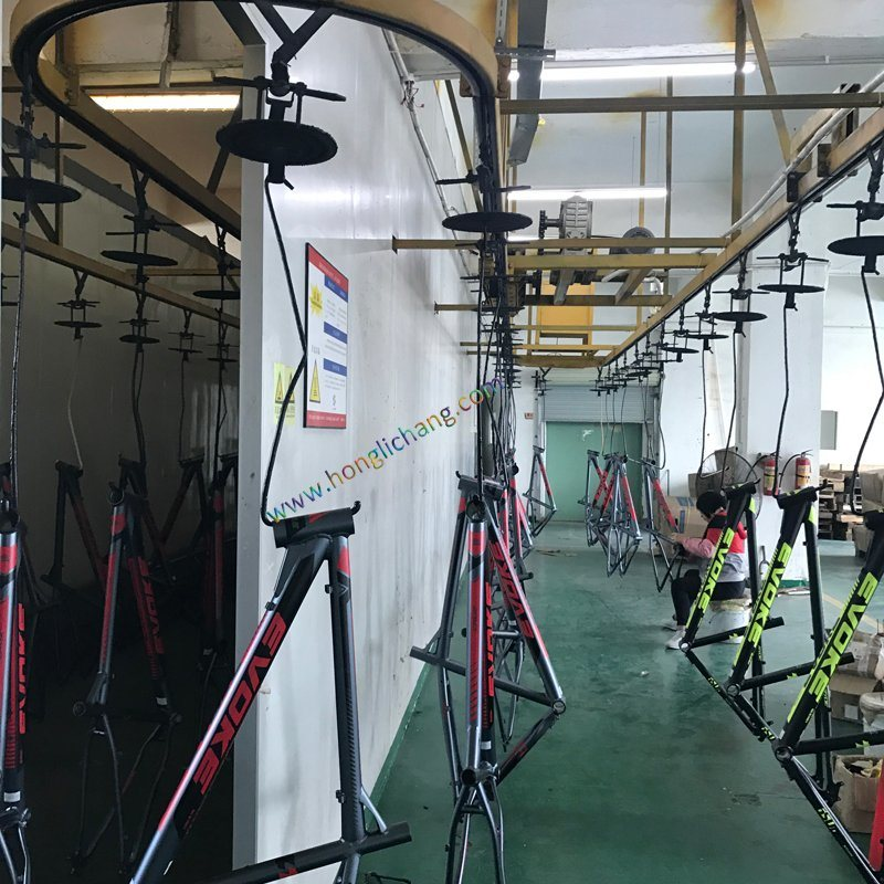 Automatic Painting Line for Bicycle Parts