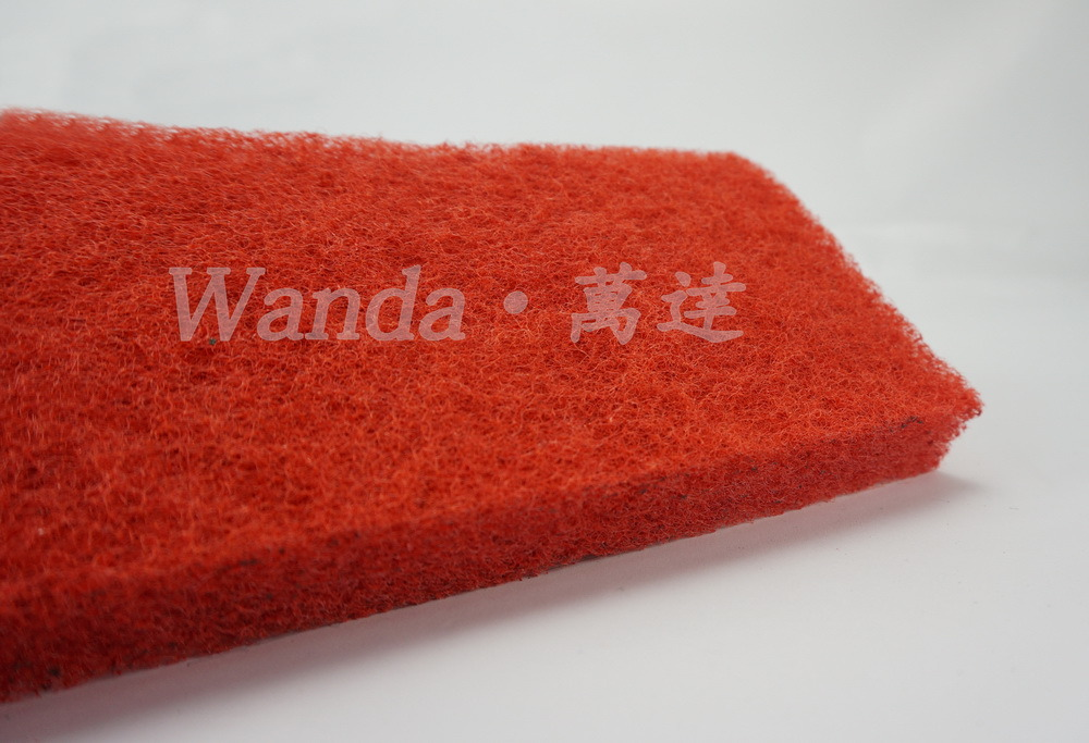 Duarable Red Floor Pad Dry Buffing Polishing Cleaning Brush Pad