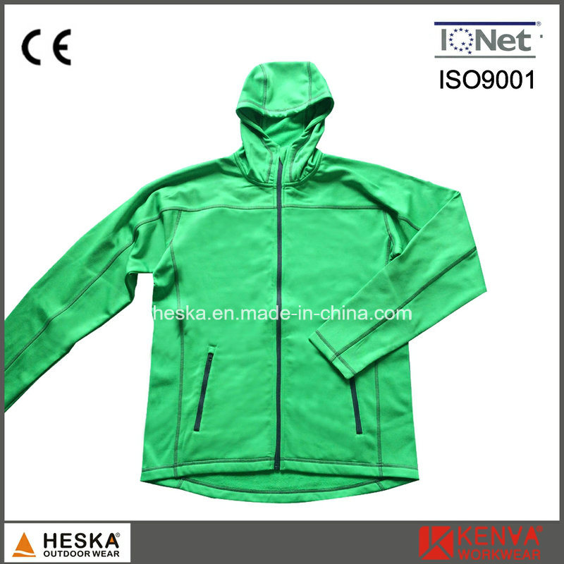 Wholesale Casual Outdoor Wear Mens Hooded Knitted Sweatshirt