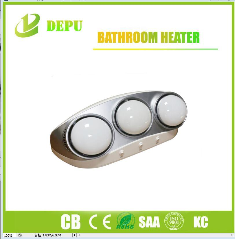 Wall Mounted Ceramic Electric Bathroom Infrared Heater