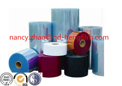 Medical Blister Packing PVC Rigid Film for Vacuum Thermoforming