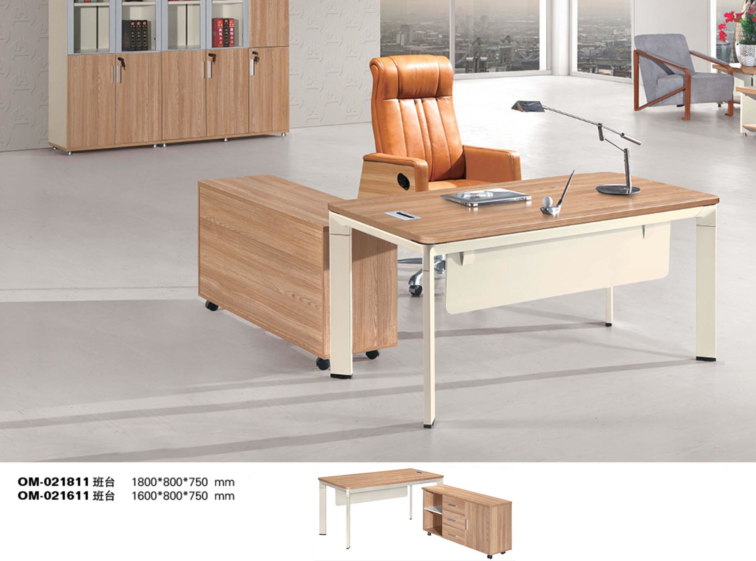 Modern Boss Computer Table Wooden Executive Office Desk