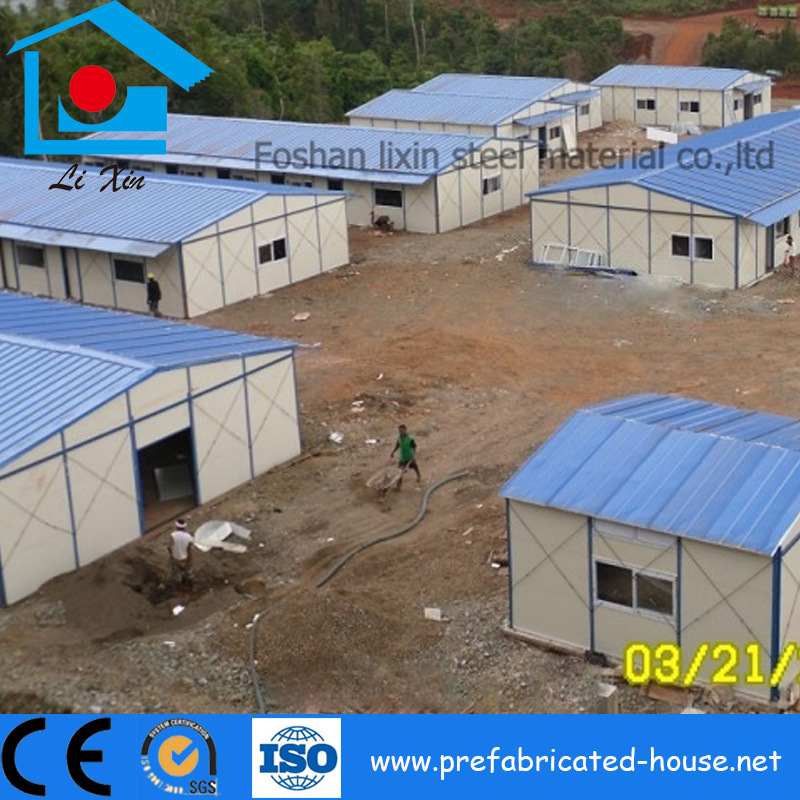 Prefab Miners Building House Indonesia