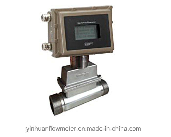 Screw-Thread Type Gas Turbine Flowmeter