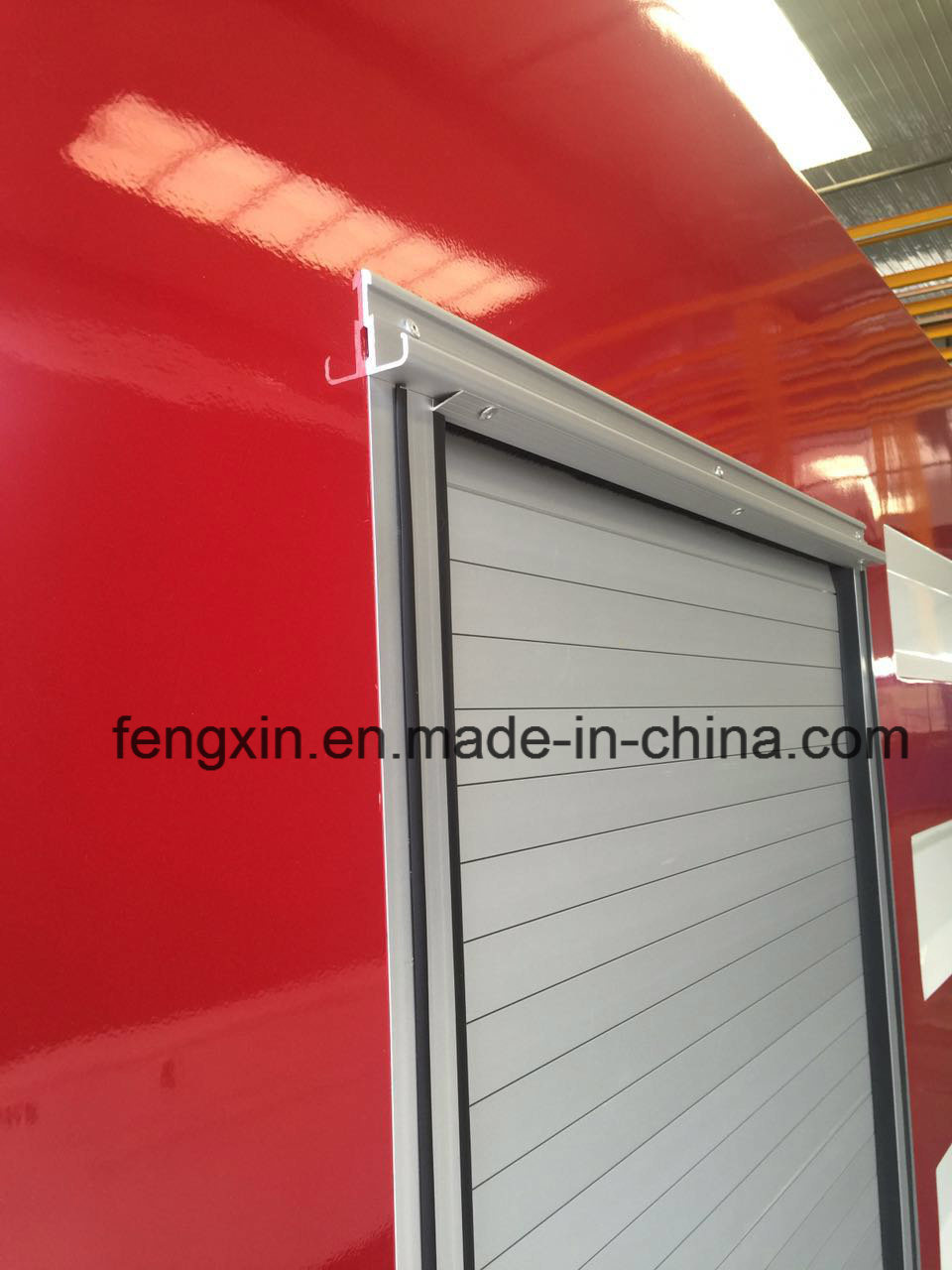 Aluminum Roller Shutter/Roll up Door for Fire-Fighting Truck
