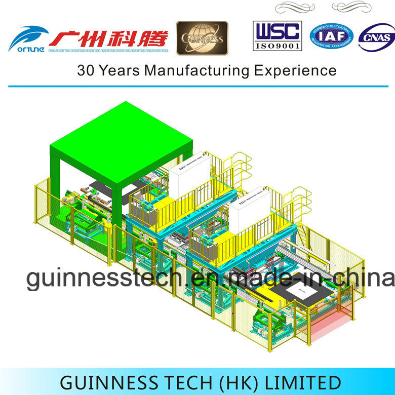Automotive Carpet Producing Equipment with Automation Loading System