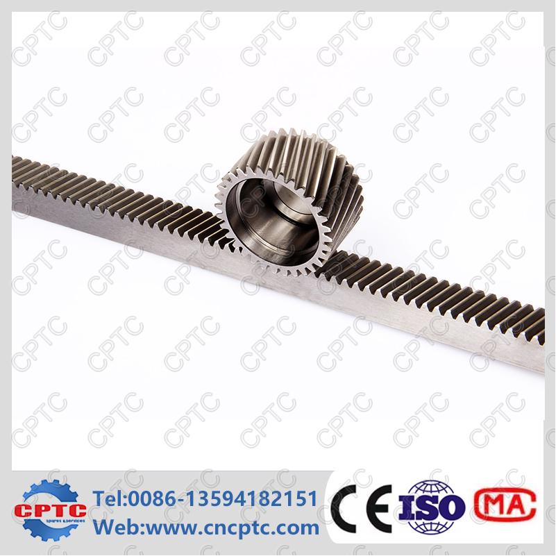 C45 Steel Helical Rack