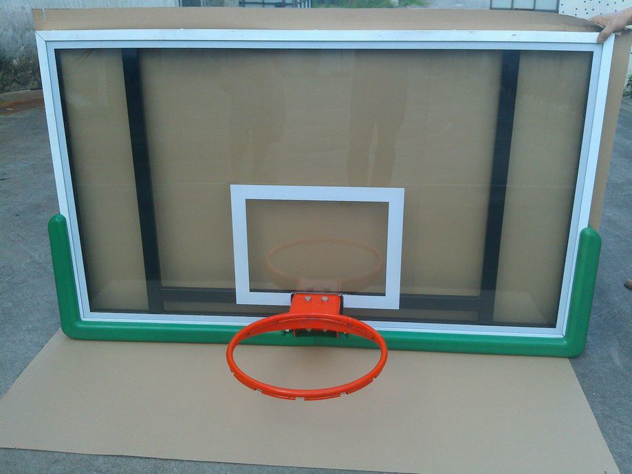 High Quality 72′′*42′′ Tempered Glass Basketball Backboard