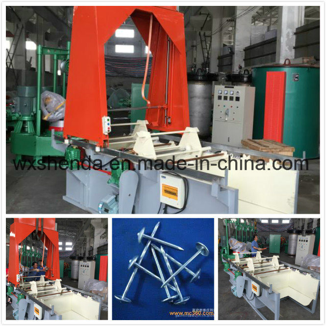 New Type Nail Galvanizing Roll Plating Machine